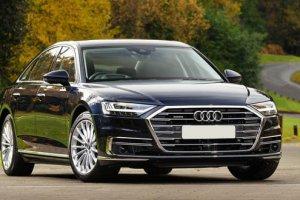 Новый седан Audi A8: хайп, автопилот и массаж для ног — Авторевю