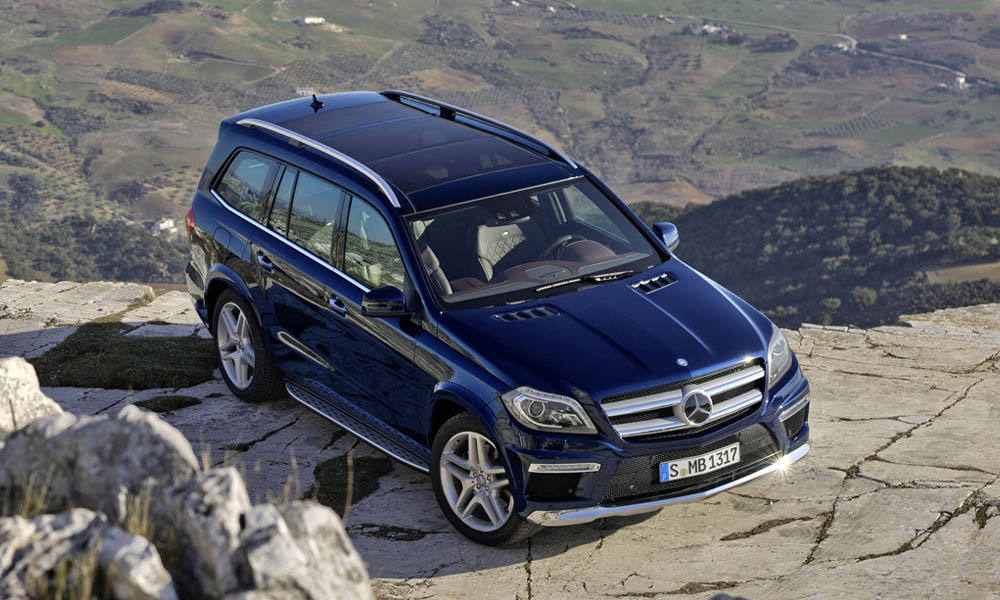 Mercedes-Benz GL 2020: фото в новом кузове, фото салона и ...