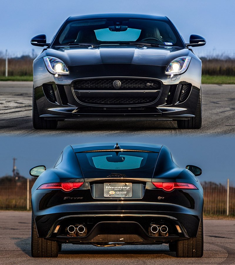Jaguar F Type 400 Sport Coupe 2017 By Humster3d: Jaguar F-Type R Coupe Hennessey HPE600 2014