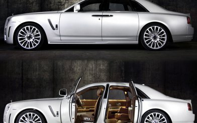 Rolls-Royce Ghost Mansory White Ghost Limited